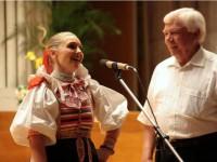 Koncert jubilantov Kapasných v Slov.rozhlase - v rozhovore s p.Demom spievam svoju obľúbenú