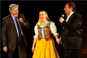 s kandidátom na prezidenta Jozefom Behýlom a spevákom Petrom Stašákom